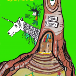 Tree and crank unicorn for website Other Creatures 2014 09 03