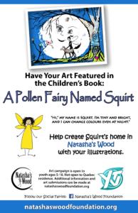 Natasha's Wood Foundation CHILDREN'S art campaign A POLLEN FAIRY NAMED SQUIRT 2016