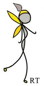 Twiglet yellow grey wings TM